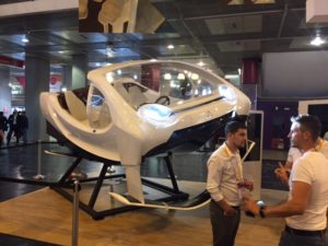 Seabubbles is a flying water car system, soon to be an app based flying water taxi inParis.